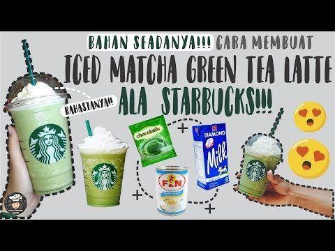 Bikin Es Matcha St Arbucks Modal 5 Ribu Resep Iced Matcha Green Tea Latte Youtube Matcha Latte Starbucks