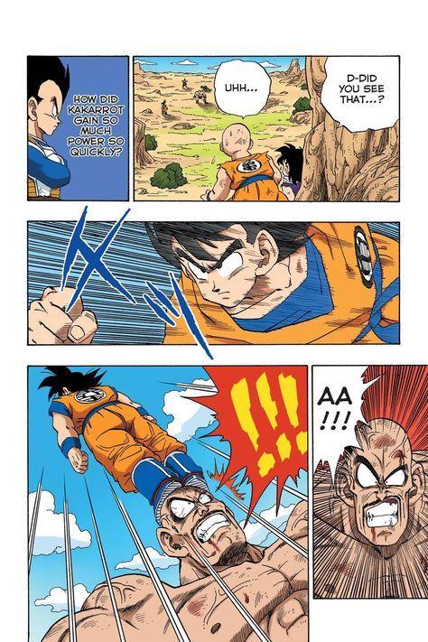 Read Dragon Ball Full Color Saiyan Arc Chapter 31 Page 5 Online For Free Anime Dragon Ball Super Dragon Ball Super Goku Dragon Ball Art