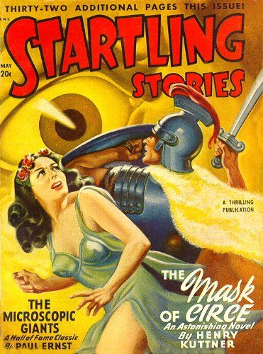 FANTASTIC A4 GLOSSY PRINT - 'STARTLING STORIES - THE MICROSCOPIC GIANTS' (A4 PRINTS - VINTAGE SCI-FI COMIC COVERS) by Unknown http://www.amazon.co.uk/dp/B00438KUP0/ref=cm_sw_r_pi_dp_QkKnvb040QJ8V