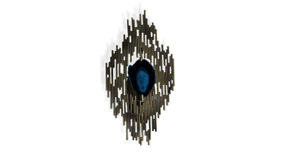 elegante Lampen, moderne Lampe http://www.bykoket.com/guilty-pleasures/lighting/vivre-sconce.php