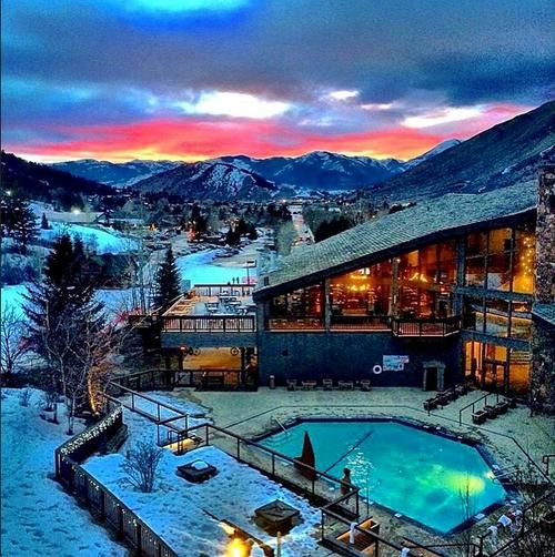 Jackson hole design and lodges on pinterest for Design hotel ski