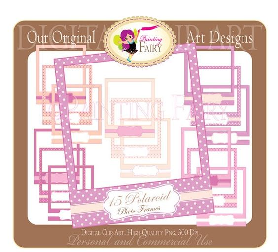 Pink baby girls png polka dots frame 20 baby shower in sweet colors