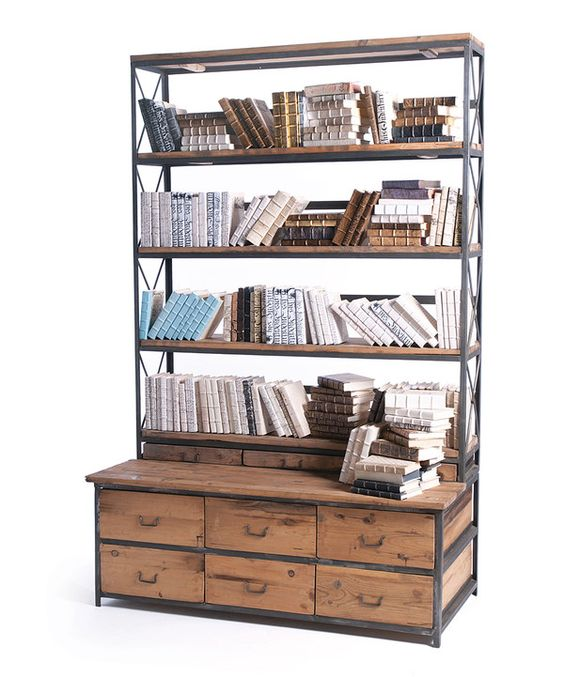 Look at this Baxter Bench Bookcase on #zulily today!