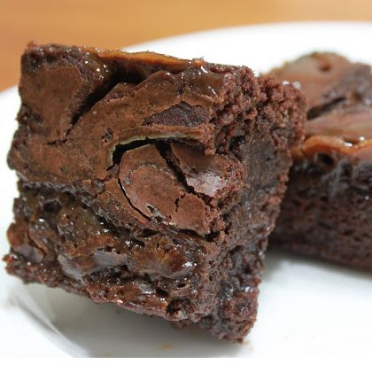 Chocolate Banana Brownies Recipe from Grandmother's Kitchen