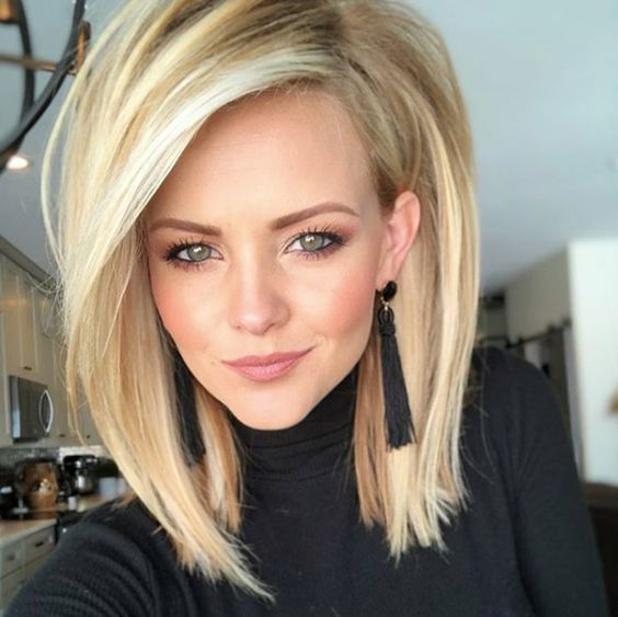 A Touch Of Volume By Harmony Beus Hair Styles Medium Hair Styles Long Bob Hairstyles