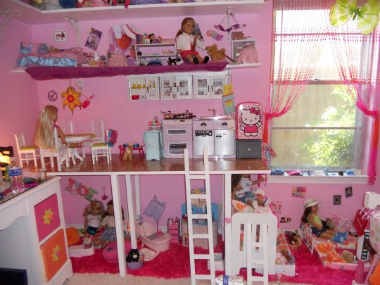 ideas for decoratingdiy furniture for american girl dollhouse 18 doll stuff pinterest american girl dollhouse girls dollhouse and diy furniture - Girl Furniture