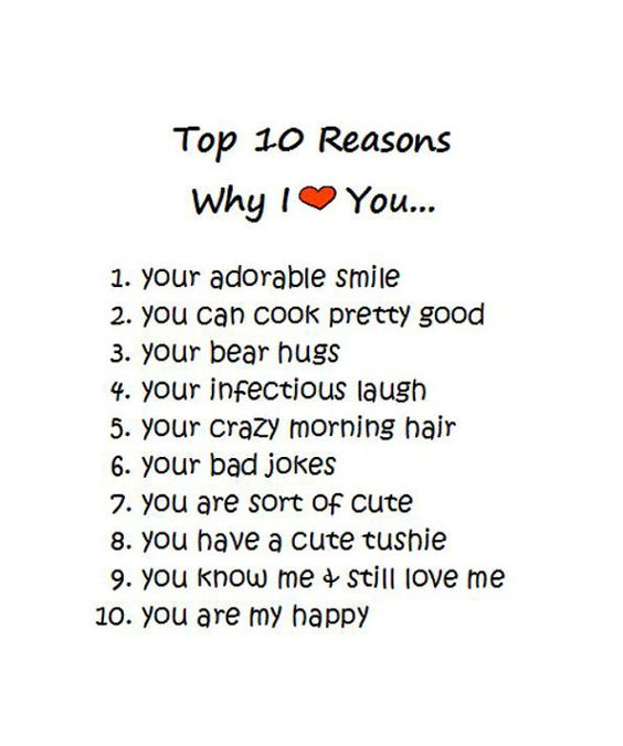 52 reasons why i love you cards list