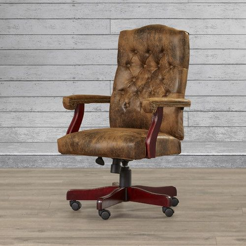 Found it at Wayfair - Hebbville High-Back Executive Office Chair with Arms