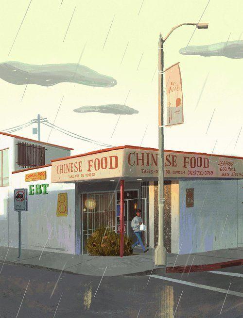 Chinese Food Jpg Visual Development Visual Illustration