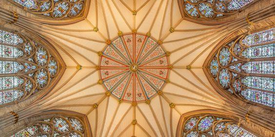 Les plafonds d'églises les plus époustouflants au monde