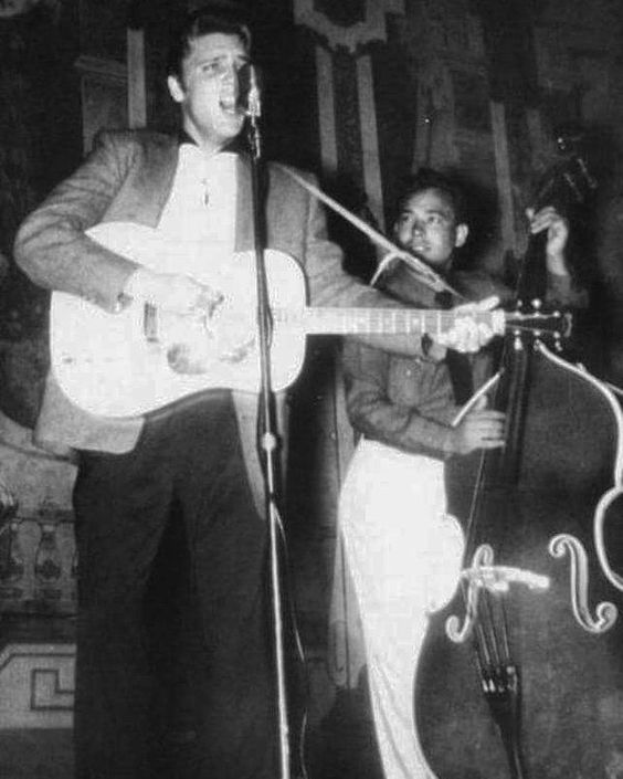May 15, 1955: Elvis performed in Norfolk, Virginia at the Norfolk Auditorium.