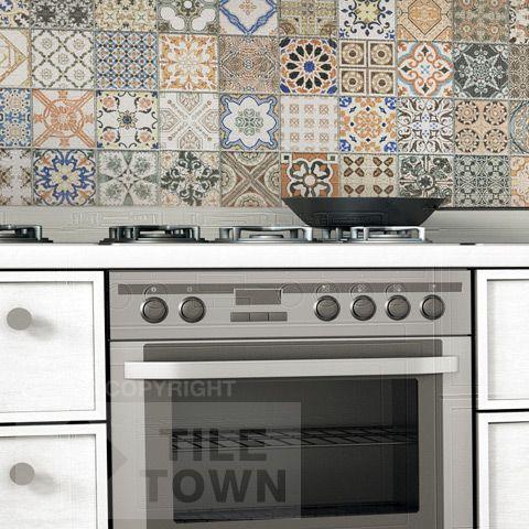 marche ceramiche cementine cucina - Cerca con Google  materiali shabby  Pinterest  Cucina ...