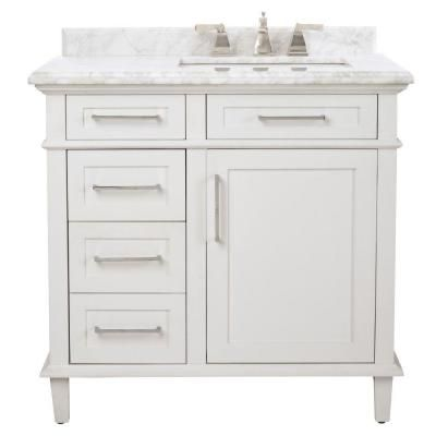 Magnificent Roman Bath Store Toronto Small Kitchen Bath Showrooms Nyc Shaped Ice Hotel Bathroom Photos Bathtub Grout Repair Youthful Bathroom Sets At Target ColouredTile Designs Small Bathrooms Home Decorators Collection Sonoma 36 In. Vanity In White With ..