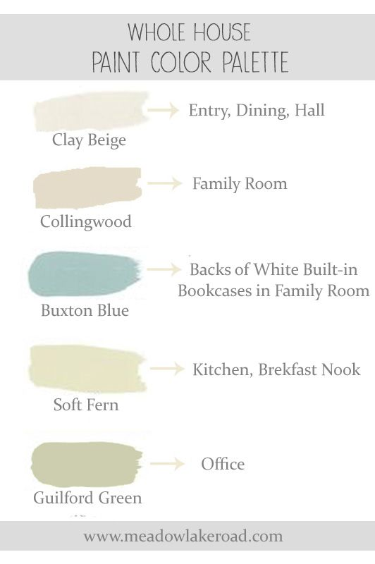 Whole House Paint Color Plan Paint Colors Lakes And House