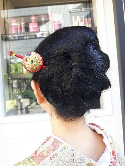 七五三ママの和装ヘア 着付け 摂津市 Casa Hair カーサ