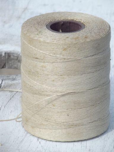 Bobine de lin filé