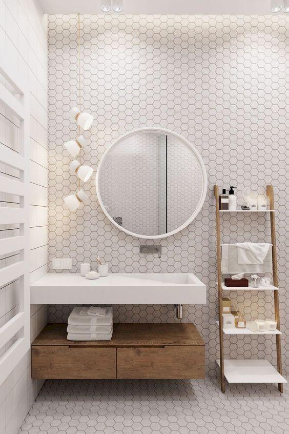 Los Azulejos Hexagonales Triunfan En Los Banos Y Cocinas Con