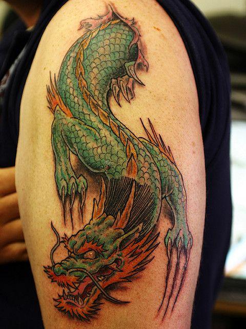 50 Best Dragon Tattoo Designs and Ideas