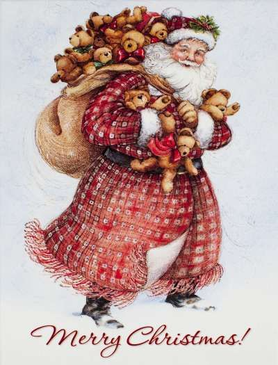 Vintage Father Christmas                                                                                                                                                      More