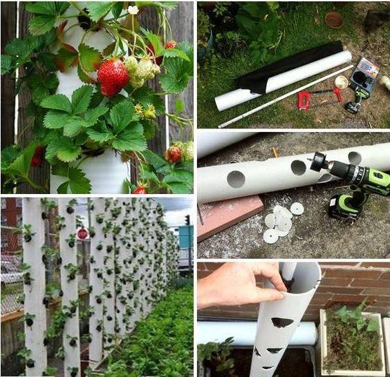DIY Récup Détournement Tube PVC Tour à fraise