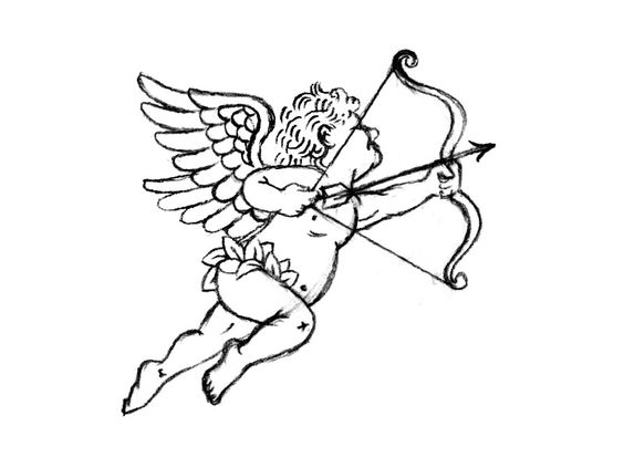 Cupid by Nathan Douglas Yoder #Design Popular #Dribbble #shots
