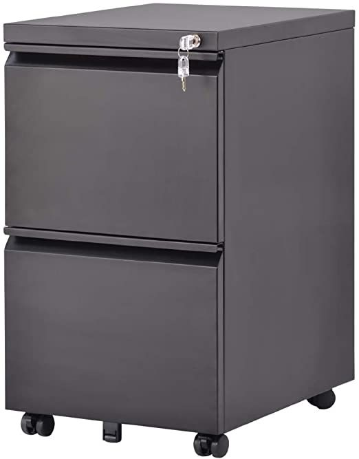 Mobile File Cabinet With Office Lock Design 2 Drawer Mobile Verticle Storage Filing Cabinet Legal Lette Metal Filing Cabinet Mobile File Cabinet Filing Cabinet 2 drawer legal size file cabinet