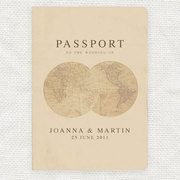 Passport ceremony cover - Take one thing: Travel wedding mood board - handbag.com