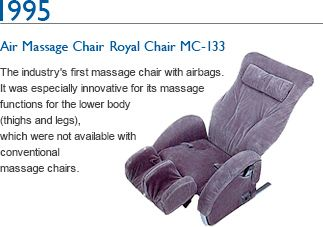 1995 Massage Chair CYBER-Relax AS-001 The industry's first massage chair with…