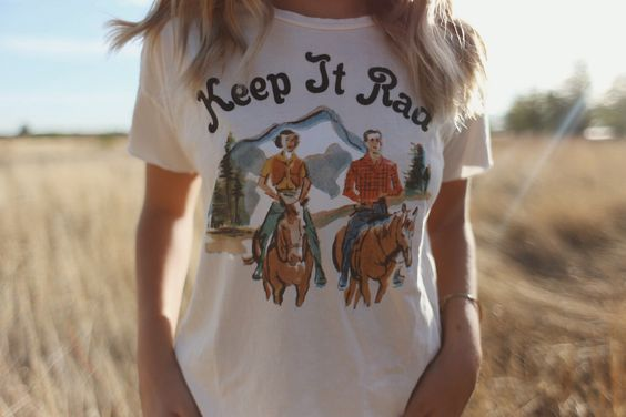 'The K-I-R' Relaxed Tee - Vintage White - Indy Brand I need to keep it rad!: