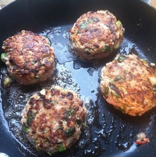 Tasty Thai Turkey Burger Recipe