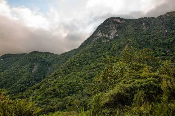 Serra do Manso interior da cidade de Jaraguá do Sul, Santa Catarina, Brasil