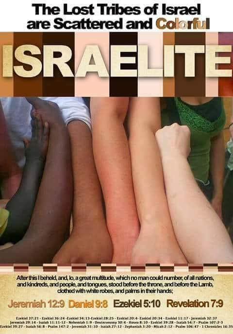 Israelite Skin Color In 2020 Israelites Jeremiah 12 Revelation 7