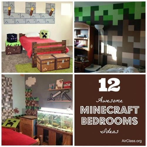 Minecraft Bedroom Ideas In Real Life Google Search Diykidbedroomsawesome Minecraft Bedroom Minecraft Room Room