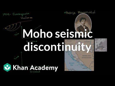 26 The Mohorovicic Seismic Discontinuity Cosmology Astronomy Khan Academy Youtube Seismic Khan Academy Cosmology