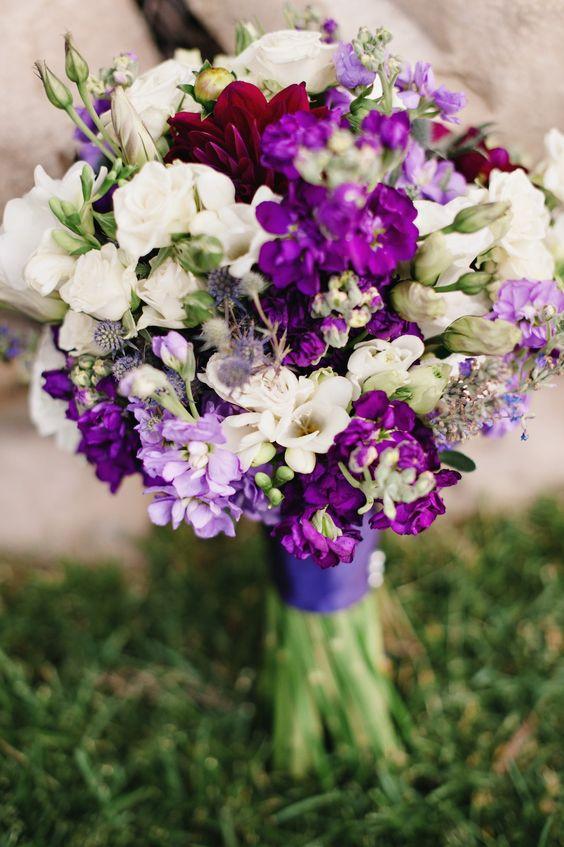 purple white wedding flowers bouquet utah florist calie rose sundance resort purple wedding. Black Bedroom Furniture Sets. Home Design Ideas