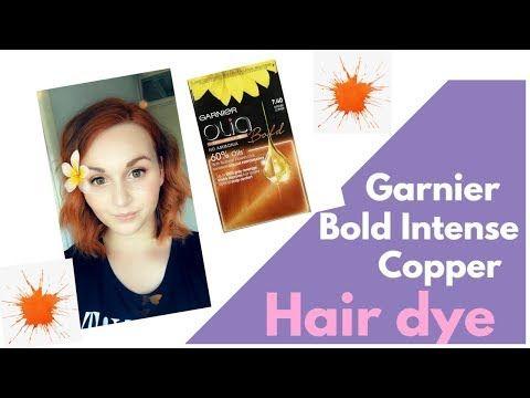 Pin By Erica On Capelli In 2020 Garnier Olia Dyed Hair Copper Hair Dye