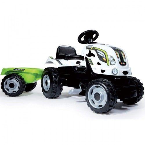 Smoby Traktor Xl Krowka Tractors Tractor Trailers Cow