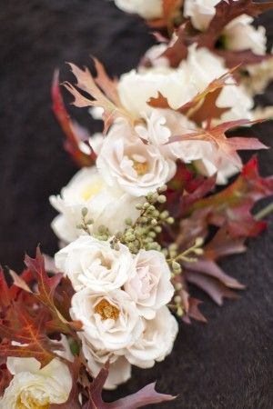Pretty Fall Flowers - The Sweetest Occasion