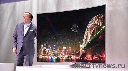 Samsung показала на CES 2015 флагманский SUHD телевизор на Tizen.