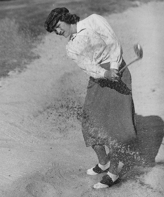 In 1932 BABE DIDRIKSON ZAHARIAS won the AAU team track & field championships, finishing first in 5 of the 8 events and then went onto win a pair of gold medals at the 1932 Olympics, setting a world records in both the javelin and 80-meter hurdles. She later switched to golf where she had 35 career victories -- 10 of them majors, including 3 US Opens ('48, '50 & '54). She won an 17 consecutive tournament titles from April 1946- Aug '47 and was a founding members of the LPGA in 1950.