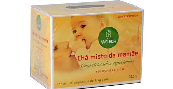 Chá misto da mamãe aumenta a produção de leite?