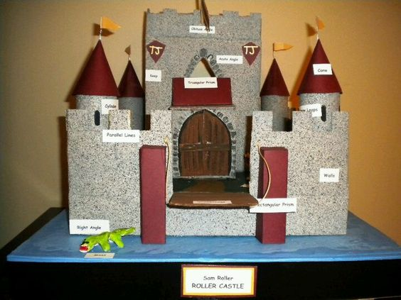 Castle Project | School Ideas | Pinterest | Projects and ...