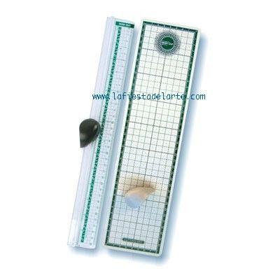 guillotina para papel cartulina goma eva film con dos cuchillas