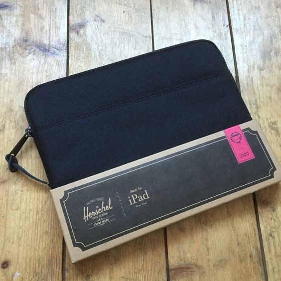 Herchel iPad zip case, £9