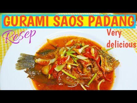 Resep Gurami Saos Padang Padang Fish Sauce Recipe Indonesian Style Youtube Resep Makanan Resep Daging Resep Ikan