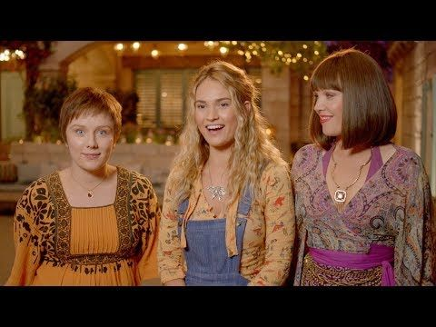Mamma Mia Here We Go Again Meet The Young Dynamos Featurette