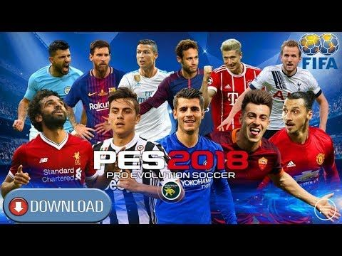 Pes18 Ucl Pro Evolution Soccer 2018 Android Hd Graphics Download Pro Evolution Soccer Evolution Soccer Game Download Free