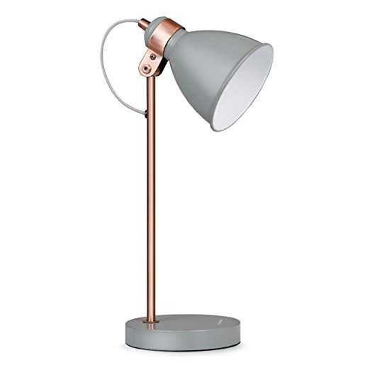 Affiliatelink Tomons Moderne Tischlampe Mit Metallfassung Leselampe Amazon De Elektronik Skandinavisch Design Lampe Led Gluhbirnen Moderne Tischlampen