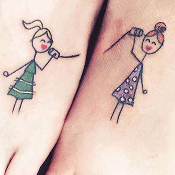 15 idées de tatouages à faire entre sœurs
