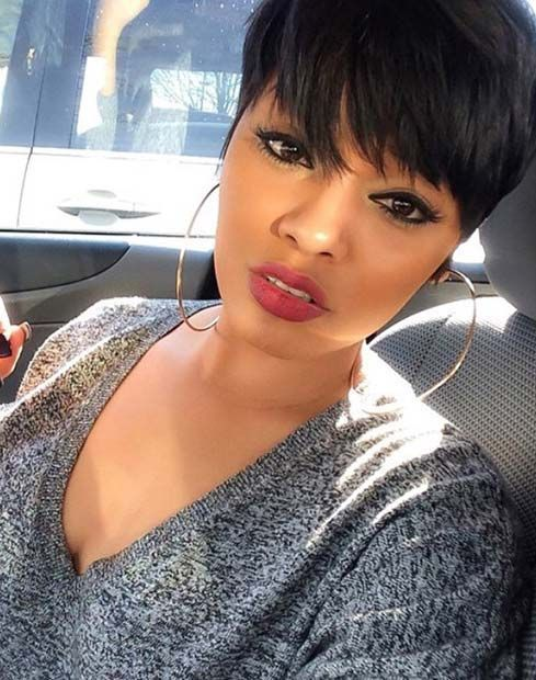 Enjoyable Pixie Cuts Short Hairstyles And Black Women On Pinterest Short Hairstyles Gunalazisus